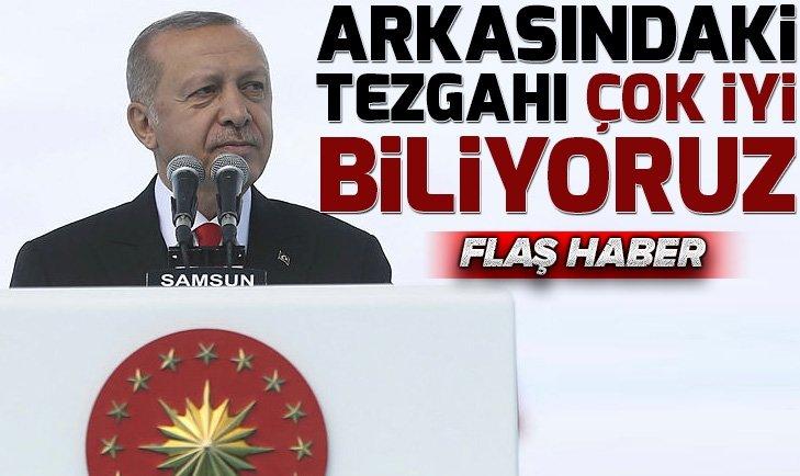 Başkan Erdoğan Samsun'da 19 Mayıs'ın 100.yıl törenine katıldı
