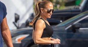 Jennifer Lopez fotoğrafıyla olay oldu