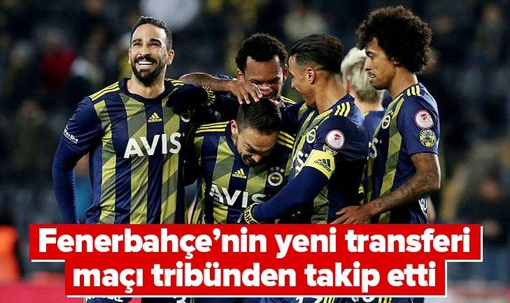 FENERBAHÇE'NİN YENİ TRANSFERİ KADIKÖY'DE