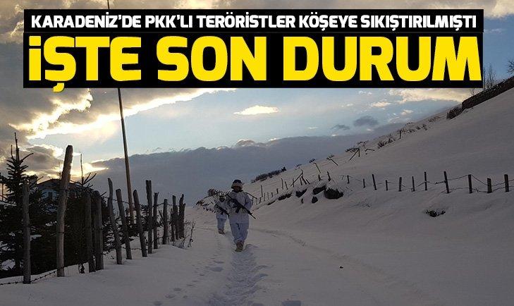 İSTİHBARAT RAPORLARI ORTAYA KOYDU! KARADENİZ'DE PKK'YA BÜYÜK DARBE