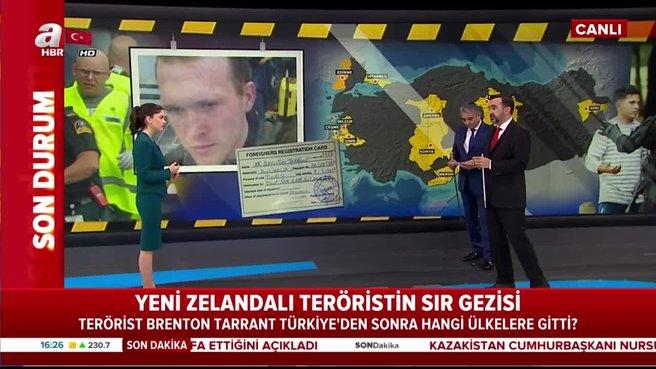 İşte o teröristin Türkiye rotası! 45 günde 9 il