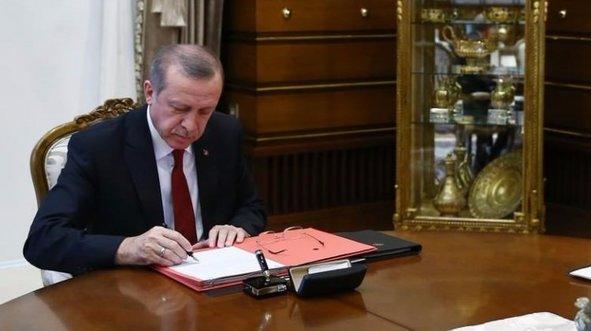 Başkan Erdoğan imzalı! Resmi Gazete'de yayımlandı