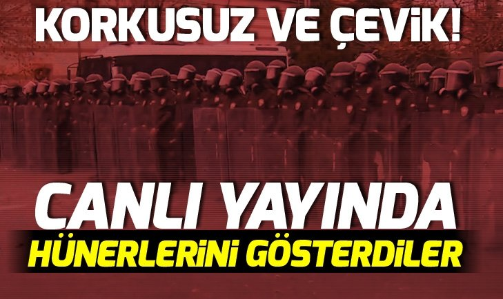 'GECE KARTALLARI'NA KOMANDO EĞİTİMİ!