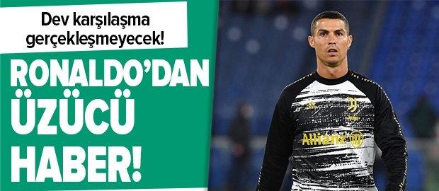 Cristiano Ronaldo'dan kötü haber! Kovid-19 testi pozitif çıktı