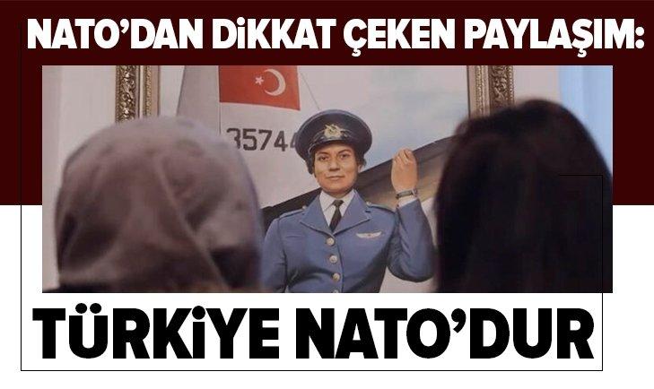 NATO'DAN DİKKAT ÇEKEN 'TÜRKİYE' MESAJI