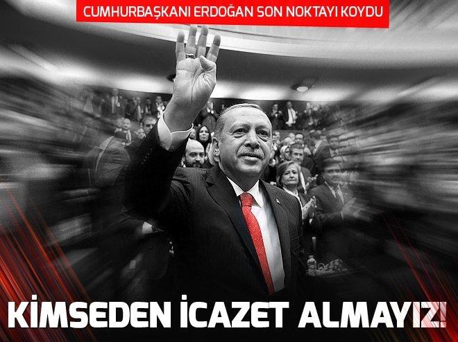 Cumhurbaşkanı Erdoğan: Afrin hallolacak geri adım yok
