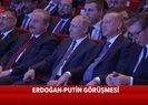 Son dakika: TürkAkım projesinde tarihi gün! Erdoğan ve Putin salona geldi