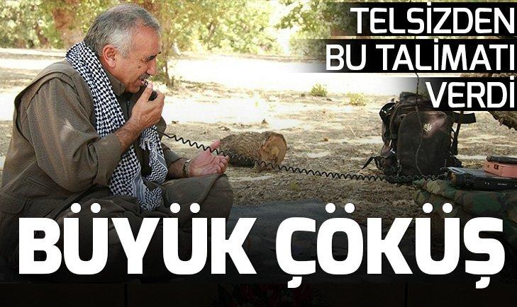 PKK'DA BÜYÜK ÇÖKÜŞ! PKK ELEBAŞI MURAT KARAYILAN'IN TELSİZ KONUŞMALARI ORTAYA ÇIKTI