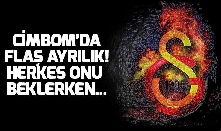 GALATASARAY'DA FLAŞ AYRILIK!