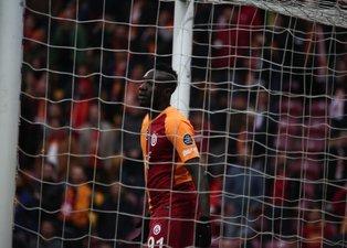Galatasaray - Kayserispor maçında ekrana yansımayanlar