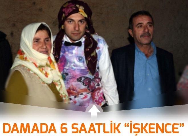 DAMADA 6 SAATLİK İŞKENCE