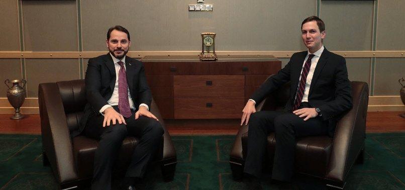 BAKAN BERAT ALBAYRAK'TAN 'KUSHNER' PAYLAŞIMI