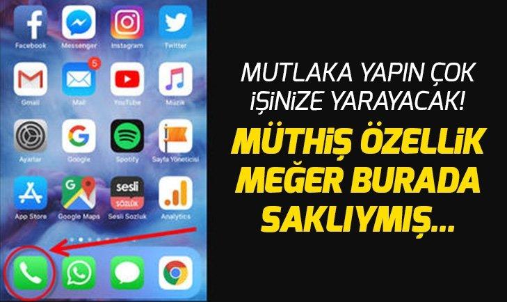 AKILLI TELEFONLARIN BİLİNMEYEN ÖZELLİKLERİ