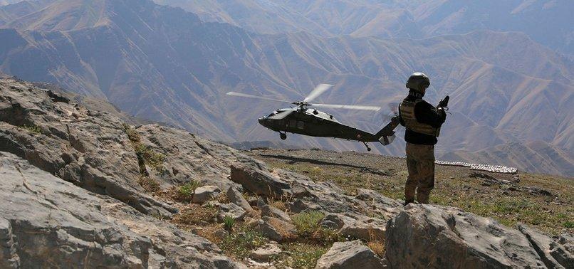 TERÖR ÖRGÜTÜ PKK'YA BİR DARBE DAHA! 5 TERÖRİST ETKİSİZ HALE GETİRİLDİ